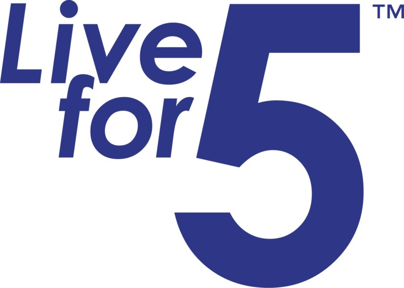 Live for 5 logo